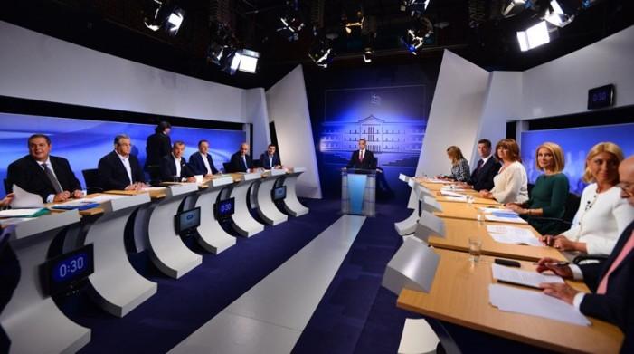 Άνευρο και άχρωμο το debate των αρχηγών