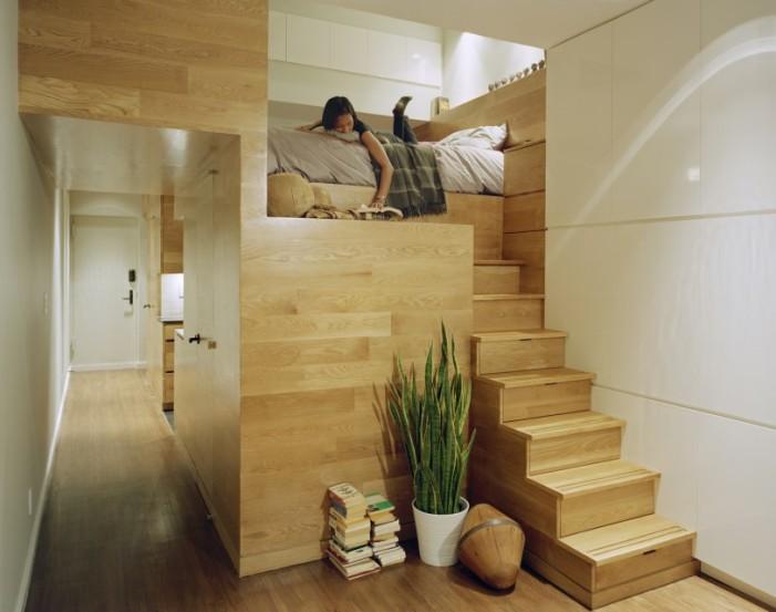 Ένα διαμέρισμα 46 τ.μ. μετατρέπεται σε ένα πολυτελές και απόλυτα βολικό στούντιο!