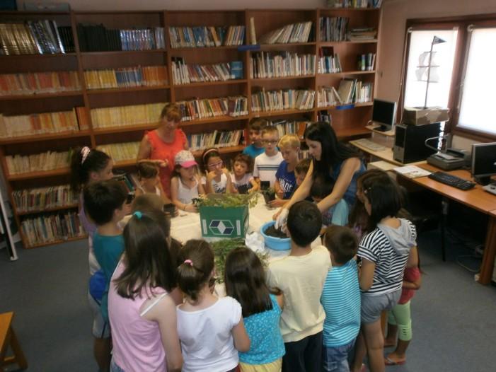 Δημοτική Βιβλιοθήκη Καστοριάς: Εδώ δεν είναι βιβλιοθήκη είναι ένας αρωματικός κήπος