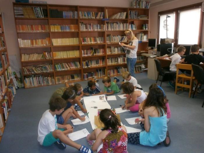 Βιβλιοθήκη Καστοριάς: Εδώ δεν είναι βιβλιοθήκη είναι ένα καταφύγιο φανταστικών φίλων