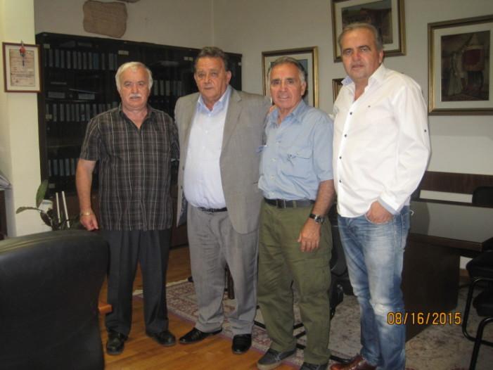 Δήμος Καστοριάς: Συνάντηση Δημάρχου με τον Πρόεδρο του Συλλόγου Καστοριανών Τορόντο Καναδά