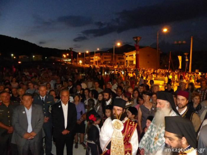 Κοσμοσυρροή στον Εσπερινό του Αγ. Νικάνορα για τον εορτασμό της μνήμης του στην Καστοριά (Φωτο+Βίντεο)