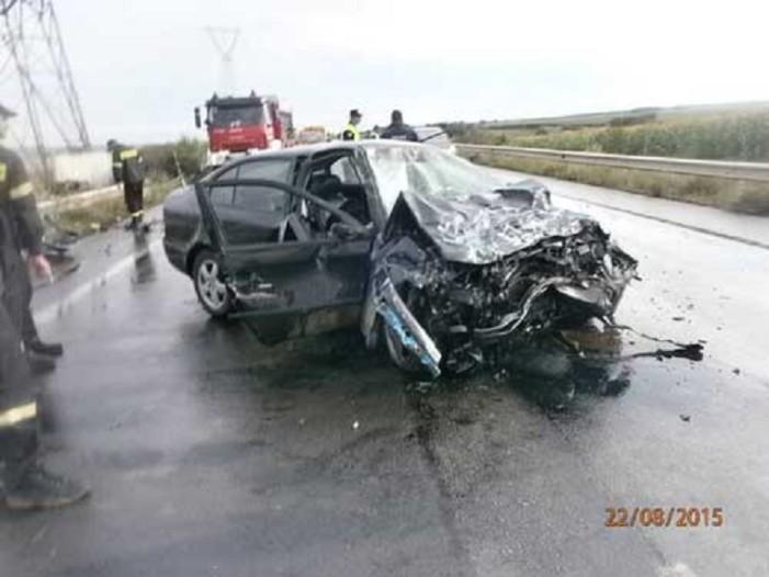 Θανατηφόρο τροχαίο ατύχημα χθές στο 34ο χλμ Κοζάνης-Φλώρινας