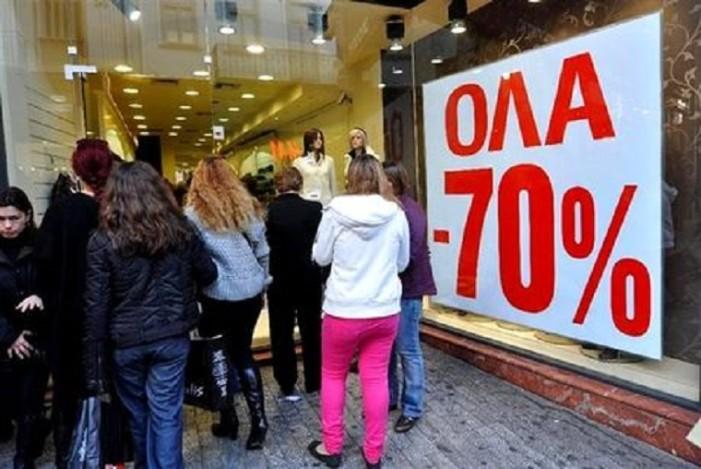 Τεράστια η μείωση της κίνησης στα εμπορικά καταστήματα της Καστοριάς κατά τη διάρκεια των εκπτώσεων