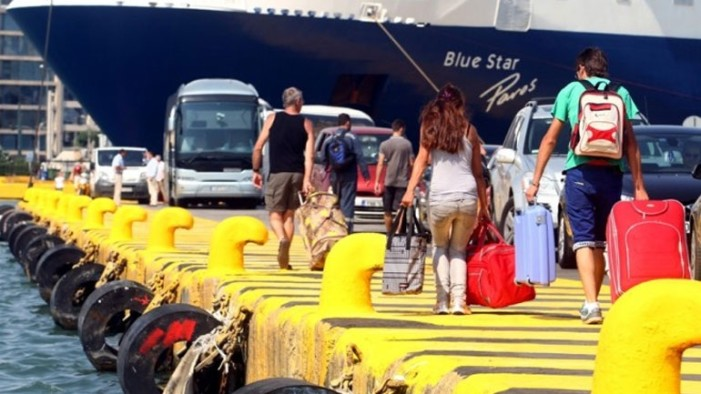 Αυξημένη κίνηση στα λιμάνια εν όψει δεκαπενταύγουστου