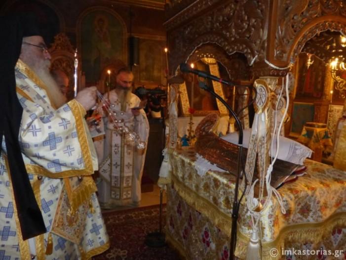 «Η Αγνή εν τάφω..» Σε κλίμα κατάνυξης η χθεσινή Αγρυπνία στην Ι. Μητρόπολη Καστοριάς