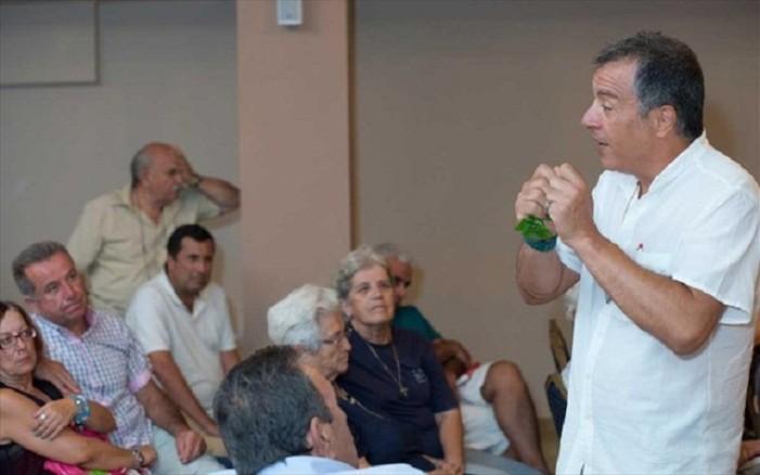 Στ. Θεοδωράκης: Ο τόπος έχει ανάγκη μια άλλη κυβέρνηση