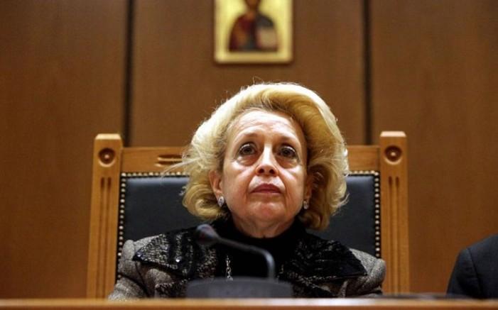 Ορίστηκε πρωθυπουργός της Ελλάδας η Βασιλική Θάνου