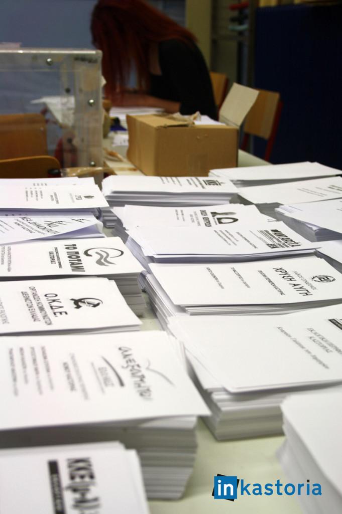 Σε παράταξη οι υποψήφοι