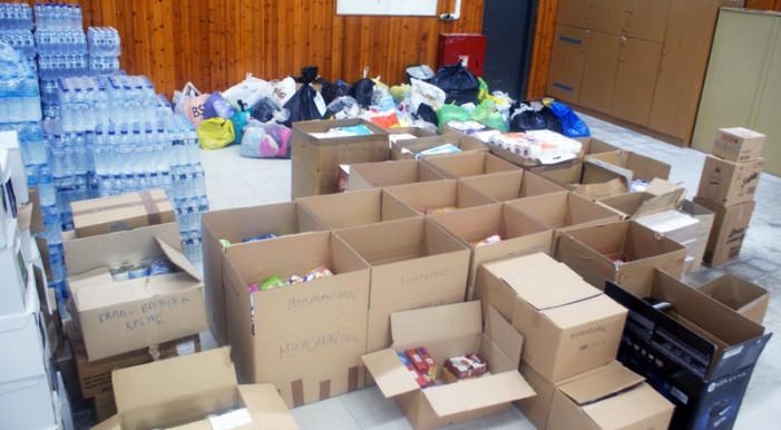 Ξεκίνησε η ανθρωπιστική βοήθεια της Καστοριάς για τους πρόσφυγες