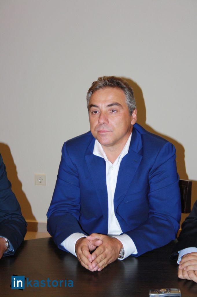 Ο υποψήφιος του ΠΑΣΟΚ Κοσμάς Βαρσάμης