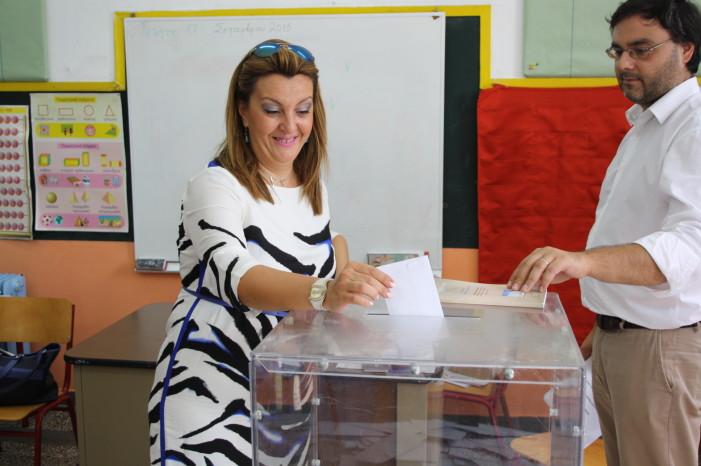 Μαρία Αντωνίου: «Ζητούνται λύσεις από μια σταθερή κυβέρνηση»
