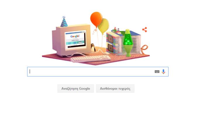 17 χρόνια Google