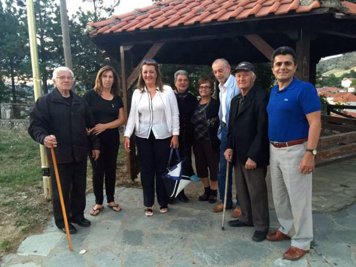Συνεχίζει τις επισκέψεις σε χωριά η Μαρία Αντωνίου