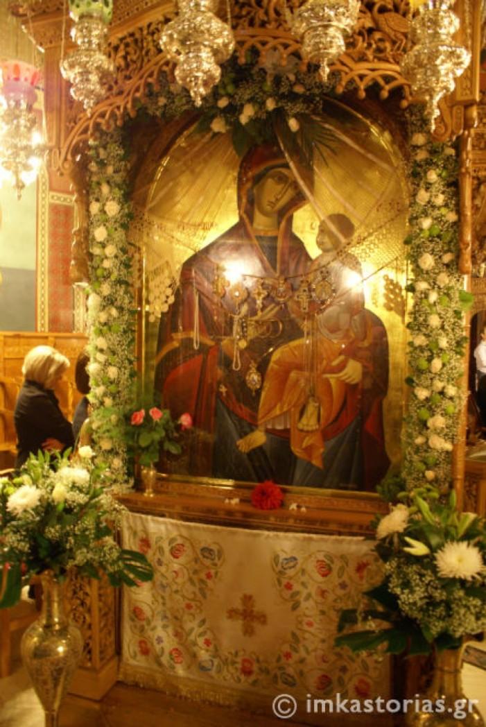 Ιερά Αγρυπνία για την Παναγία την Γοργοϋπήκοο