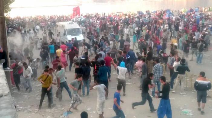 Σοβαρά επεισόδια με πρόσφυγες στη Μυτιλήνη