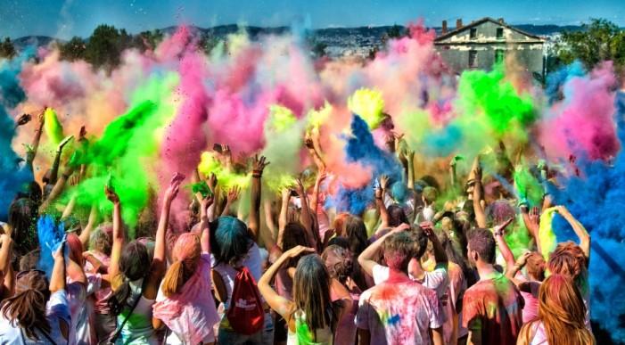Μια ημέρα χρώματα στην Θεσσαλονίκη!