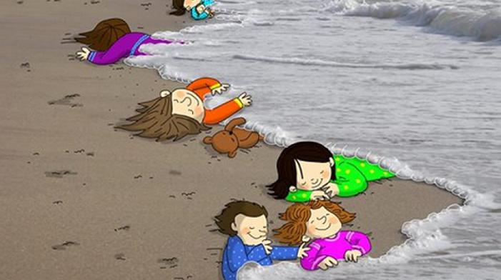 Ο τρίχρονος Αϊλάν «στοιχειώνει» την Ευρώπη