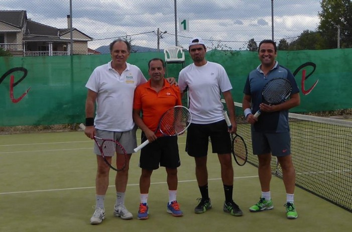 """Ολοκληρώθηκε το Τουρνουά Τένις Διπλού Ανδρών """"PROTEAS WEEKEND DOUBLES"""","""