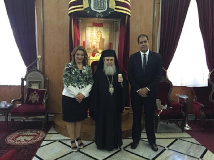 Σε Διεθνές Συνέδριο στην Ιερουσαλήμ συμμετείχε η Μαρία Αντωνίου