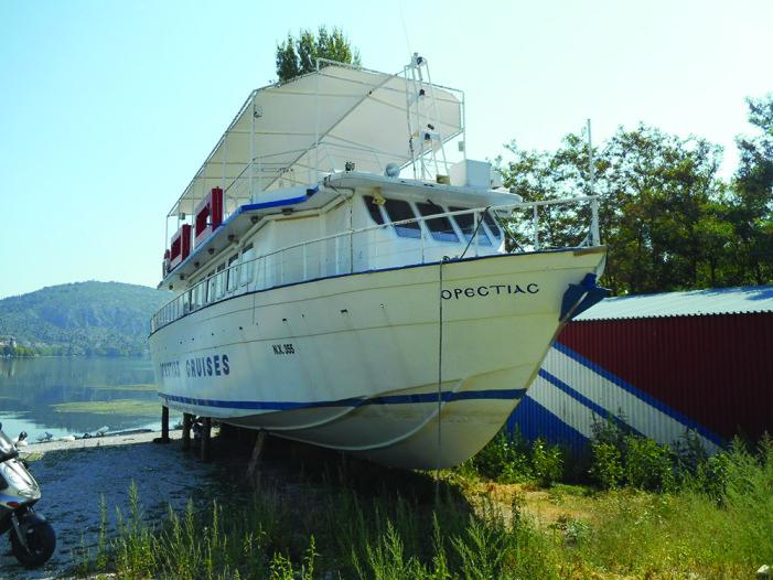 """Κόλαφος η έκθεση του πραγματογνώμονα για το καράβι """"Ορεστειάς"""" (Φωτό)"""