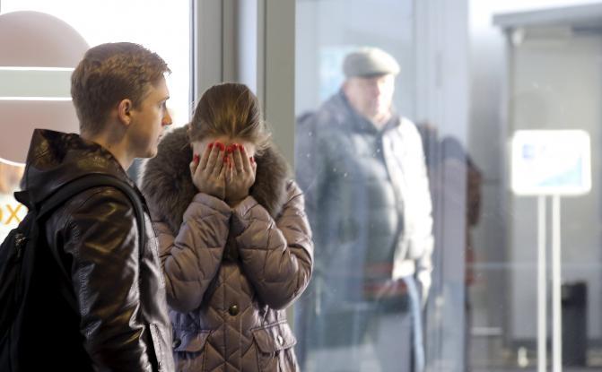 Θρήνος στη Ρωσία για τη συντριβή του αεροσκάφους
