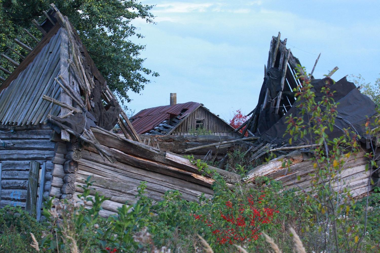 Εγκαταλελειμένο σπίτι. Φωτο: Valeriy Yurko