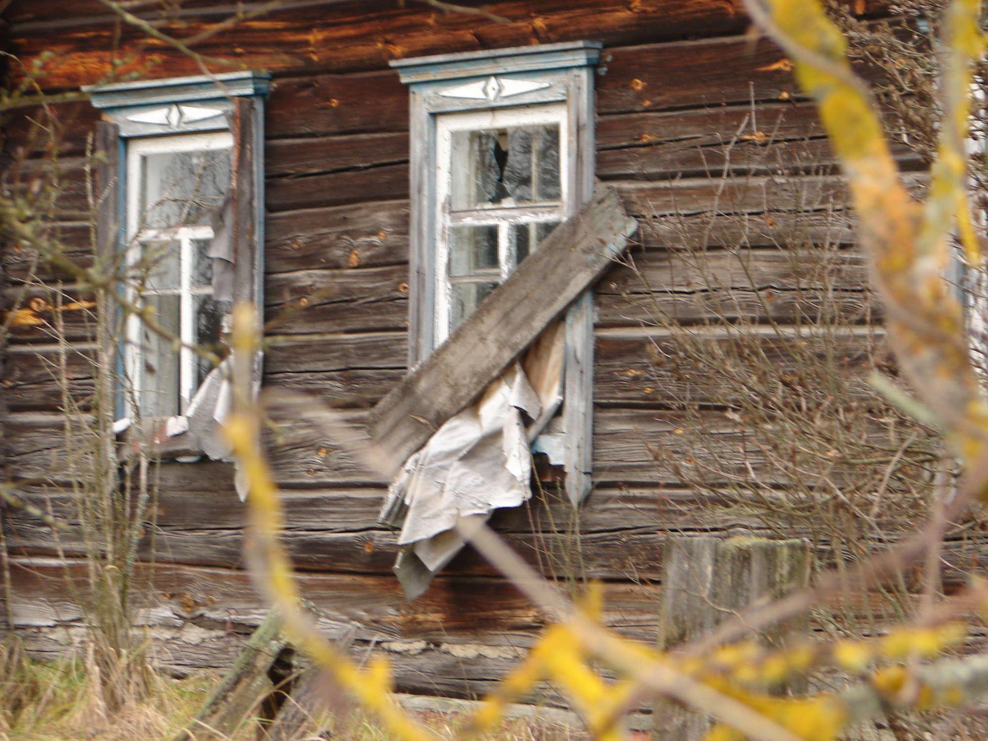 Εγκαταλελειμμένο σπίτι. Φωτο: Tatyana Deryabina