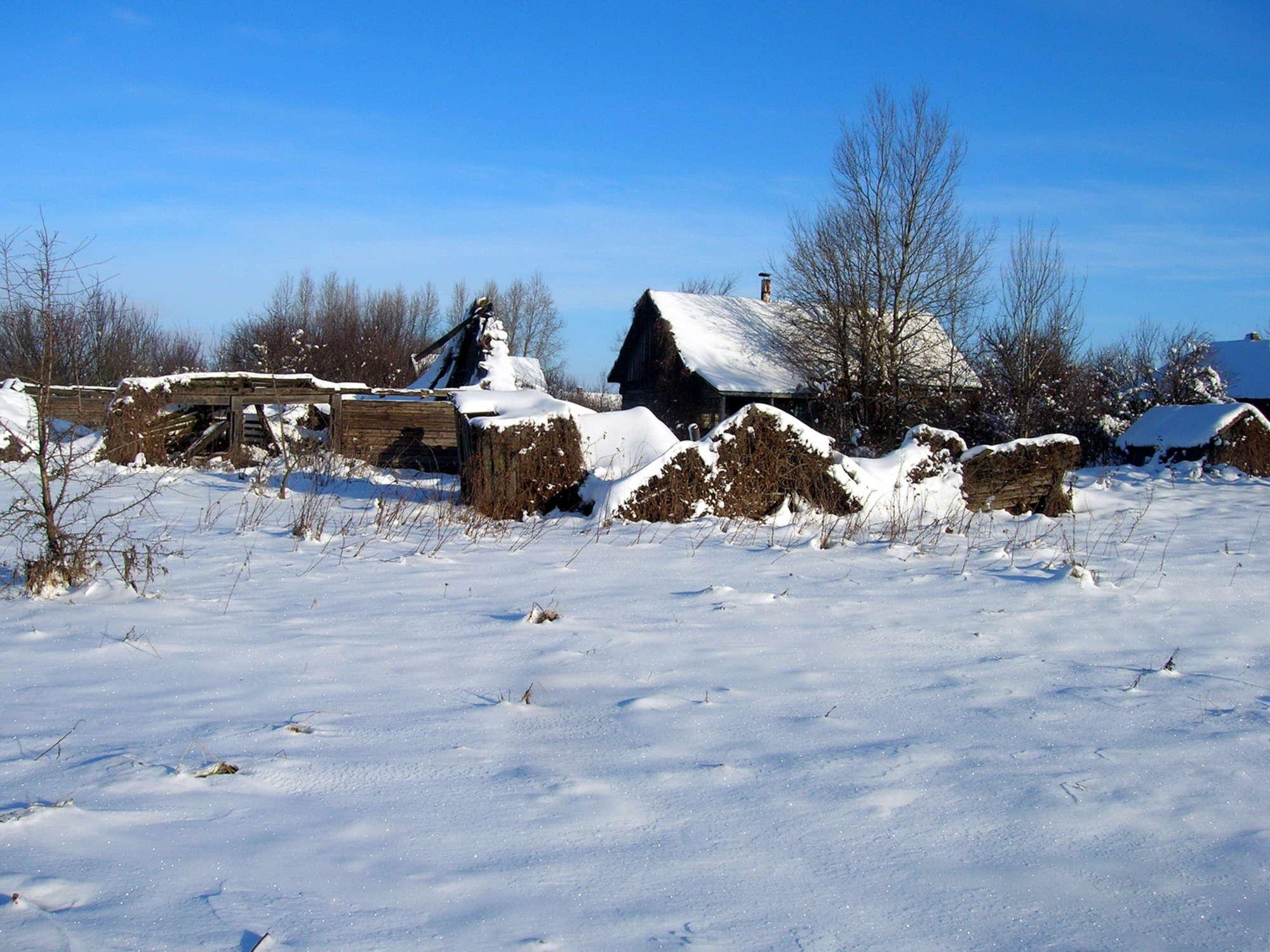 Εδώ κάποτε ήταν το χωριό Badchin... Φωτο: Valeriy Yurko