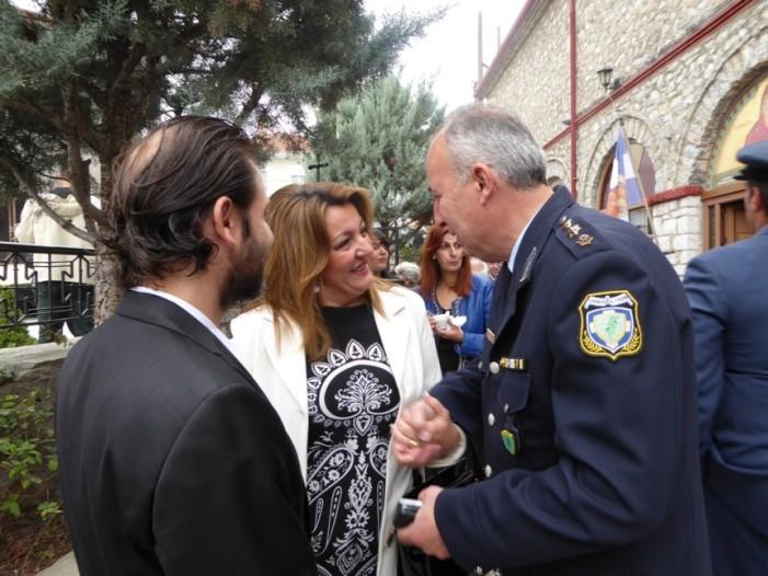 Μήνυμα της Μαρίας Αντωνίου για τον επίσημο εορτασμό της Ημέρας της Ελληνικής Αστυνομίας