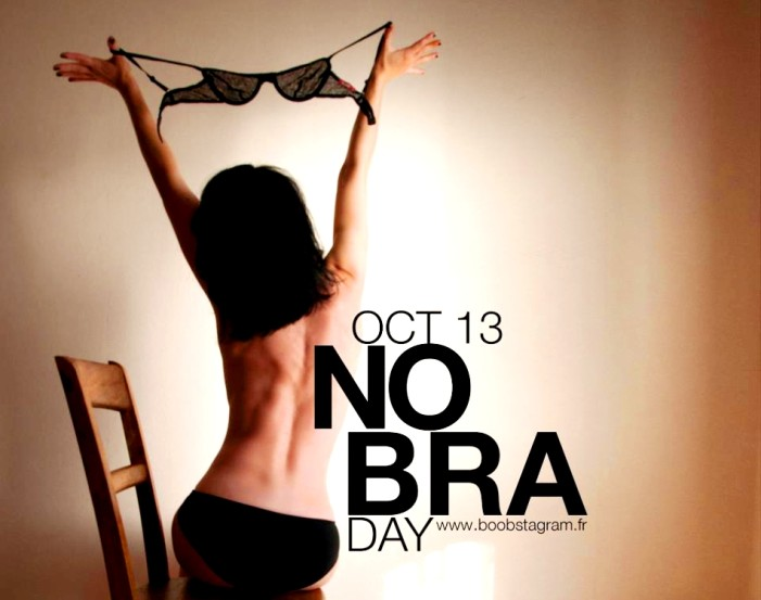 Παγκόσμια ημέρα χωρίς σουτιέν, για τη μάχη ενάντια στον καρκίνο του μαστού