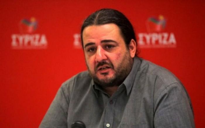 Παραιτήθηκε από το ΣΥΡΙΖΑ ο Τάσος Κορωνάκης