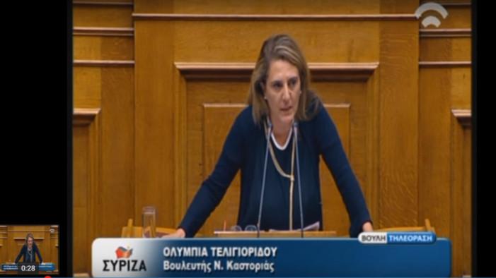 Ανακοίνωση της Ολυμπίας Τελιγιορίδου για τα βουλευτικά αυτοκίνητα