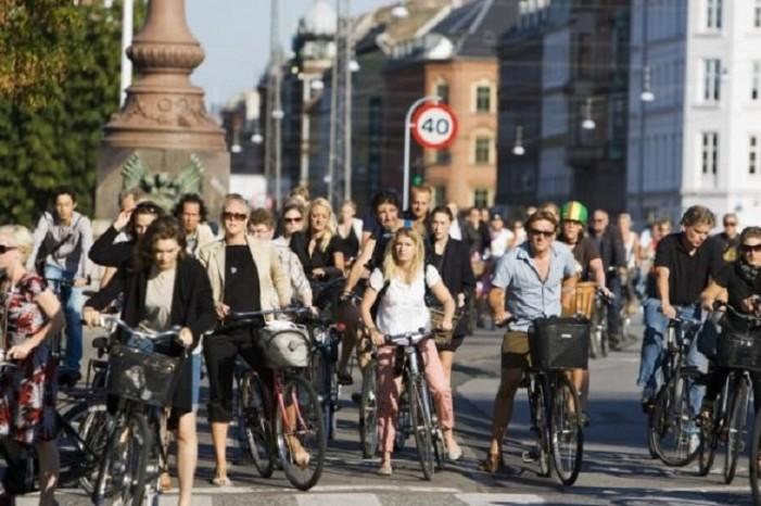 Δανία: Η κίνηση στους δρόμους εν ώρα αιχμής(video)