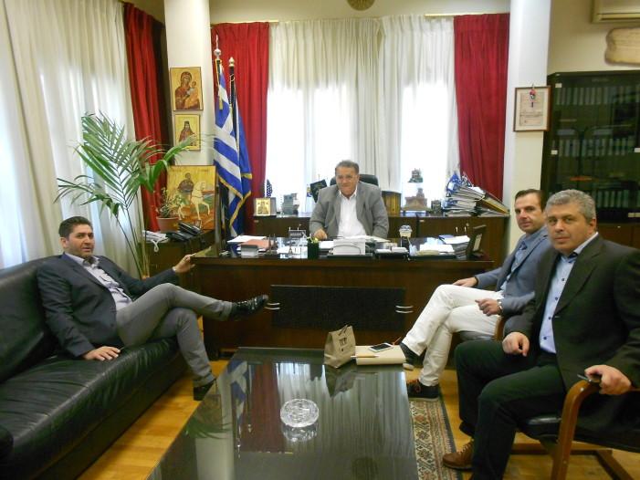Επίσκεψη γουνοποιών στον δήμαρχο Καστοριάς