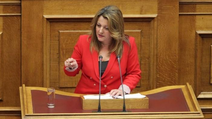 Μαρία Αντωνίου: Θα είμαι πολύ σκληρή με όποιον πολιτικόξαναεπιχειρήσει να παίξει με εθνικά ζητήματα
