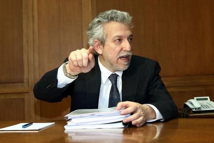 Κοντονής: Θα συνεχιστεί η προσπάθεια για την πάταξη της βίας και της διαφθοράς στον αθλητισμό