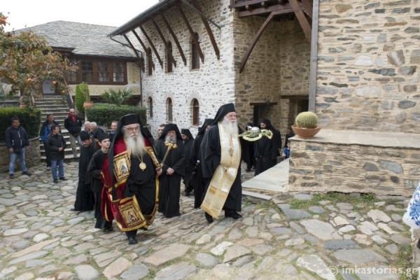 Ο Σεβασμιώτατος Μητροπολίτης Σεραφείμ στο Άγιον Όρος (φωτό)