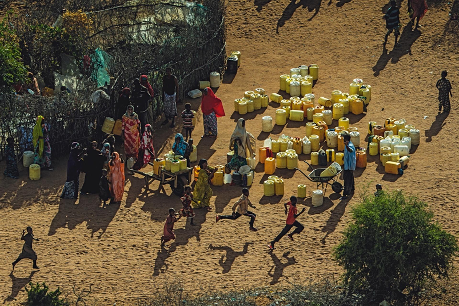 Κατασκήνωση Σομαλών προσφύγων στην Νταντάμπ
