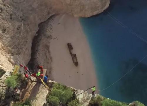 Αυτό είναι το καλύτερο extreme sports βίντεο από το Ναυάγιο στη Ζάκυνθο (σε 4Κ)