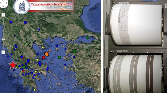 Σεισμός 6,1 Ρίχτερ νοτιοδυτικά της Λευκάδας (2 νεκροί, ισχυρός μετασεισμός μόλις τώρα)