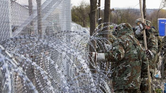 Τα 40 χλμ θα φτάσει ο φράχτης των Σκοπιανών στα σύνορα με την Ελλάδα