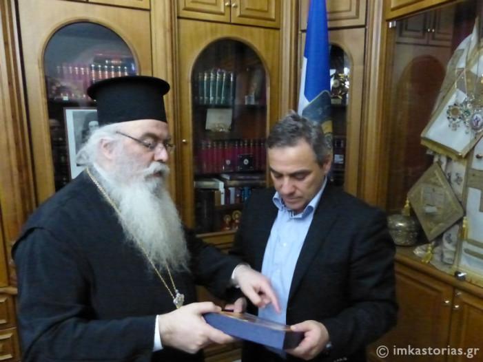 Ο Γραμματέας Ν.Ε. ΠΑΣΟΚ επισκέφτηκε τον Σεβασμιώτατο