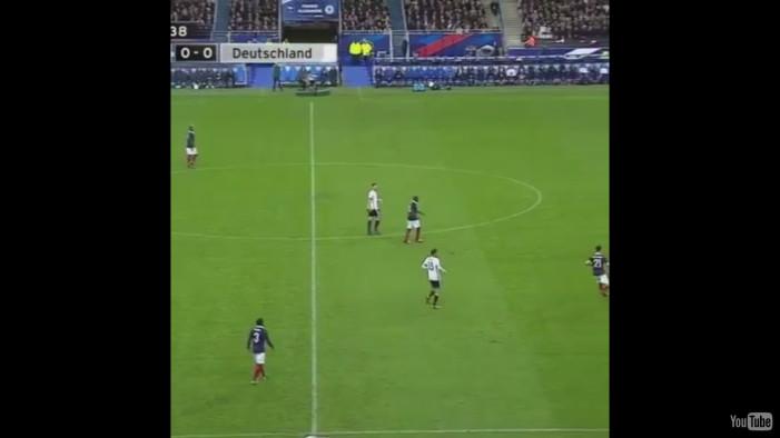 Δείτε την ώρα που εξερράγη βόμβα στον αγώνα Γαλλία-Γερμανία!