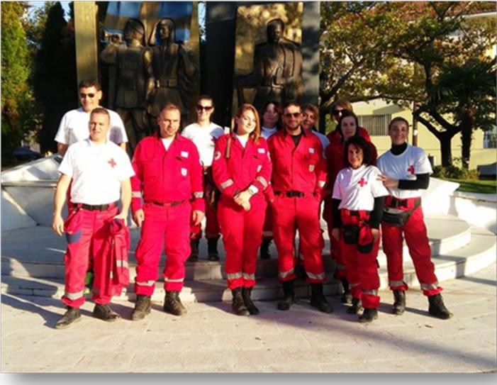 Η αποστολή του Ερυθρού Σταυρού Καστοριάς στην Ειδομένη (φωτό)