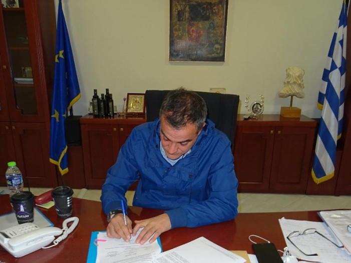 Στη φάση της υλοποίησης περνά η Πανεπιστημιούπολη Κοζάνης – Την αναλυτική διακήρυξη του έργου υπέγραψε ο Περιφερειάρχης