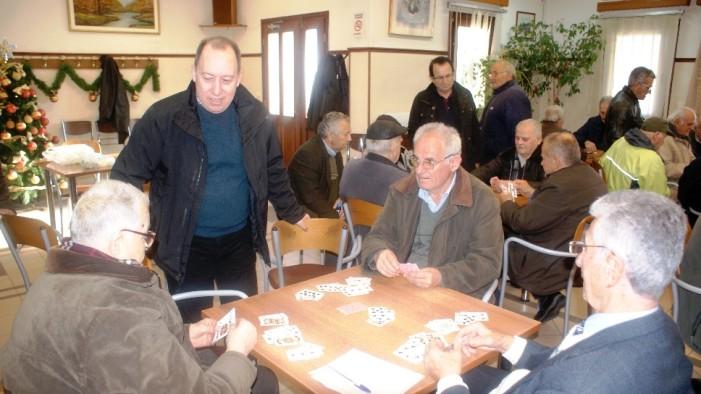 Αντάλλαξε Ευχές σε Γηροκομείο & ΚΑΠΗ ο Αντιπεριφερειάρχης Σωτήρης Αδαμόπουλος