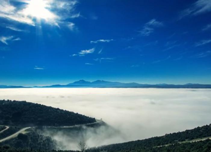 Ομίχλη κρύβει τα Γιάννενα! (βίντεο 1:25 λεπτά από 4 ώρες μαγνητοσκόπησης)