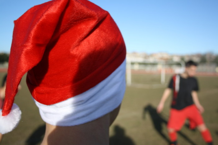 Ευχές των ποδοσφαιριστών του Παναργειακού – Στο κλίμα των ημερών η σημερινή προπόνηση (photos)