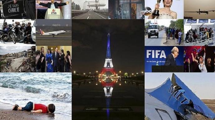 Το 2015 σε 209 δευτερόλεπτα – Τα γεγονότα που συγκλόνισαν τον κόσμο